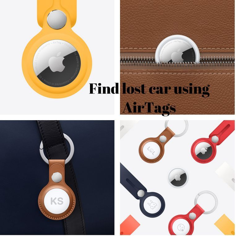 Can I track my car using Apple AirTags ?