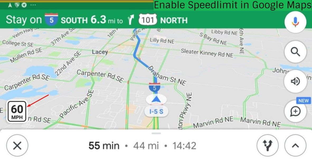 How to Make Google Maps Display the Speed Limit
