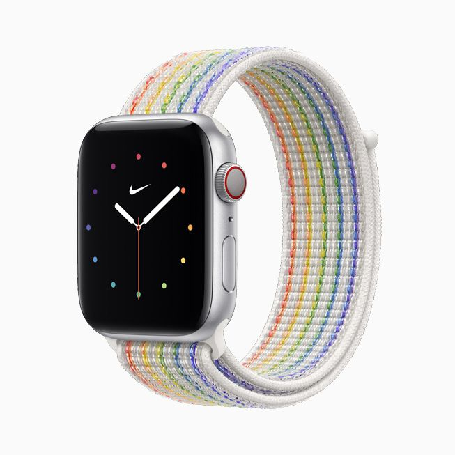 Apple unveils two new Pride Edition bands for the Apple Watch.