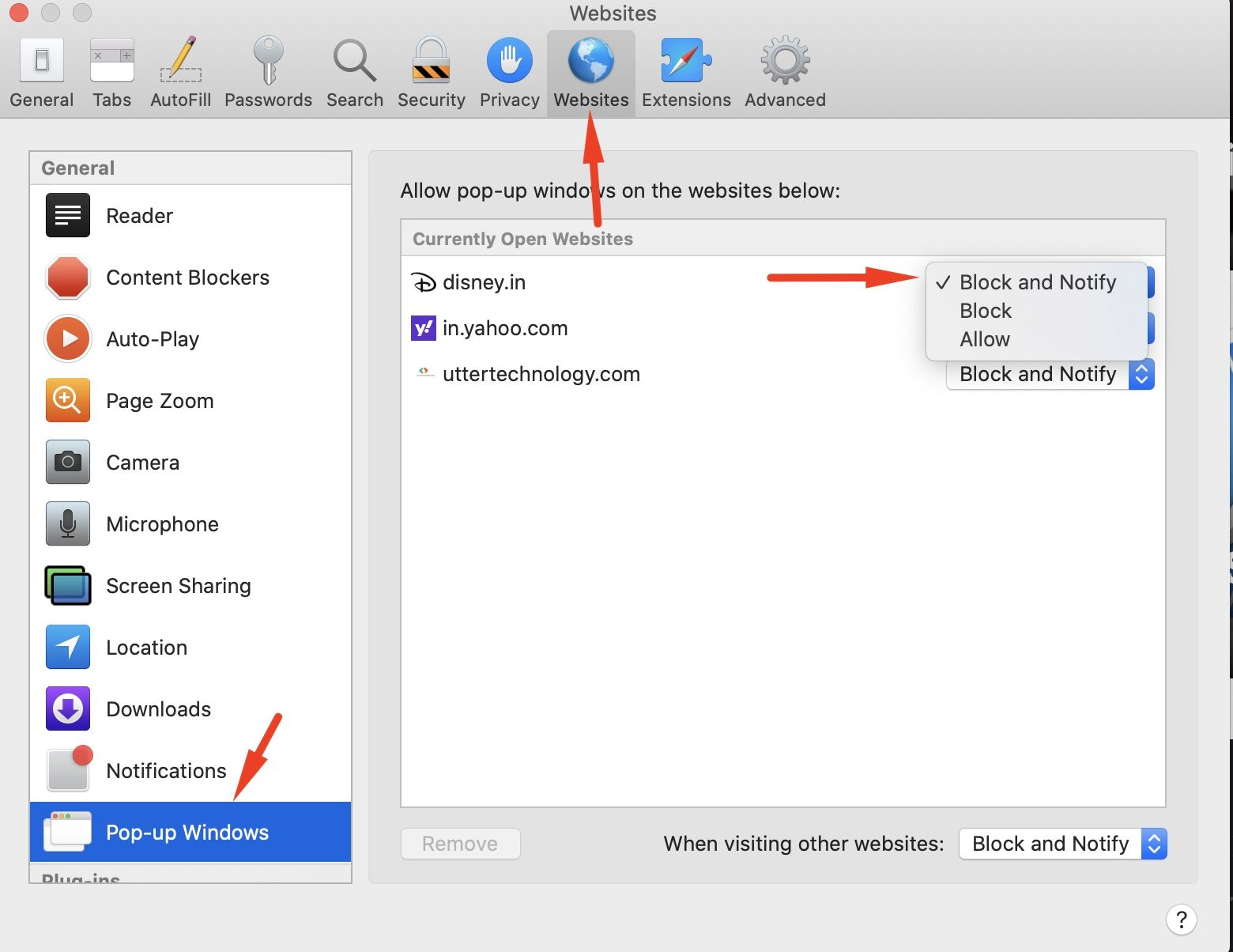 How to Enable/Disable Pop-up Blocker in Safari on Mac and iPhone