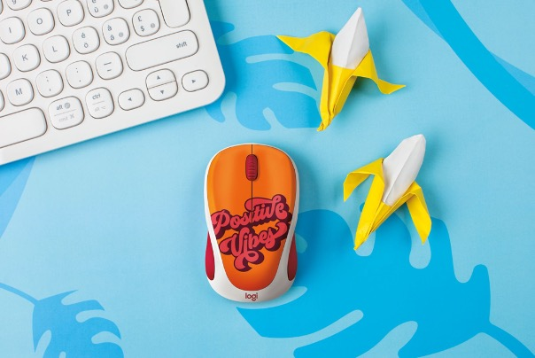 Limited edition Logitech Vibrant Patterns wireless mice now available