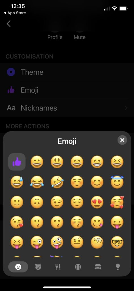 The complete guide to Facebook Messenger features: Use Emoji stickers and animated GIFs