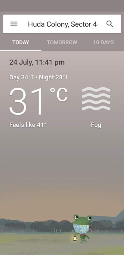 How to Install Google Weather Application on an Android Device