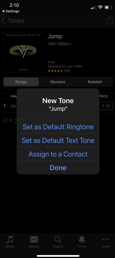 How to buy Ringtones for iPhone and iPad in iOS 15