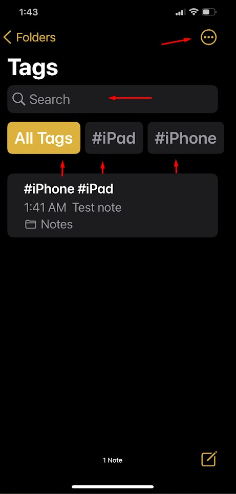 How to Create Tags in Apple Notes in iOS 15