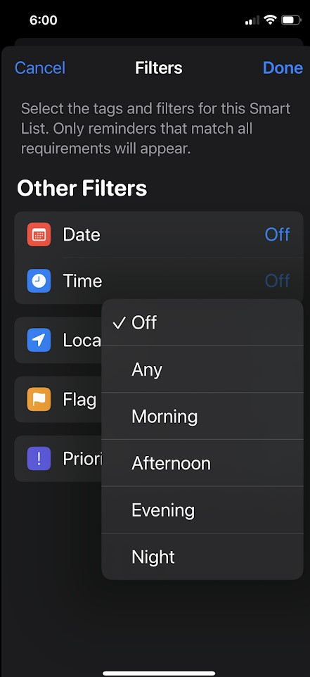 To Create Smart Lists in the Reminders App in iPadOS 15