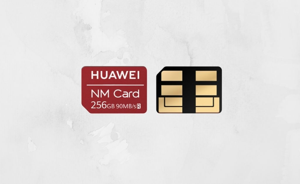 How does the Nano Memory card work in Huawei phones? How NM Cards work