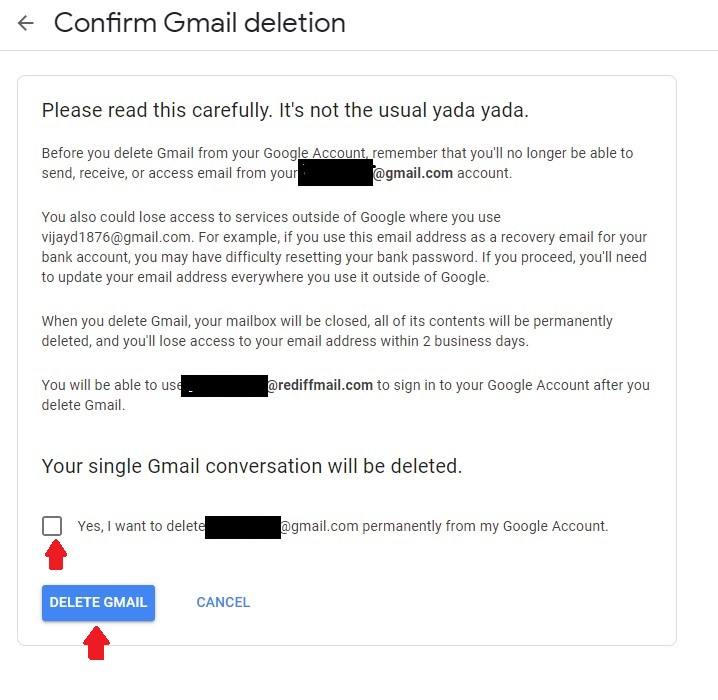 How to Deactivate Your Google Email Account