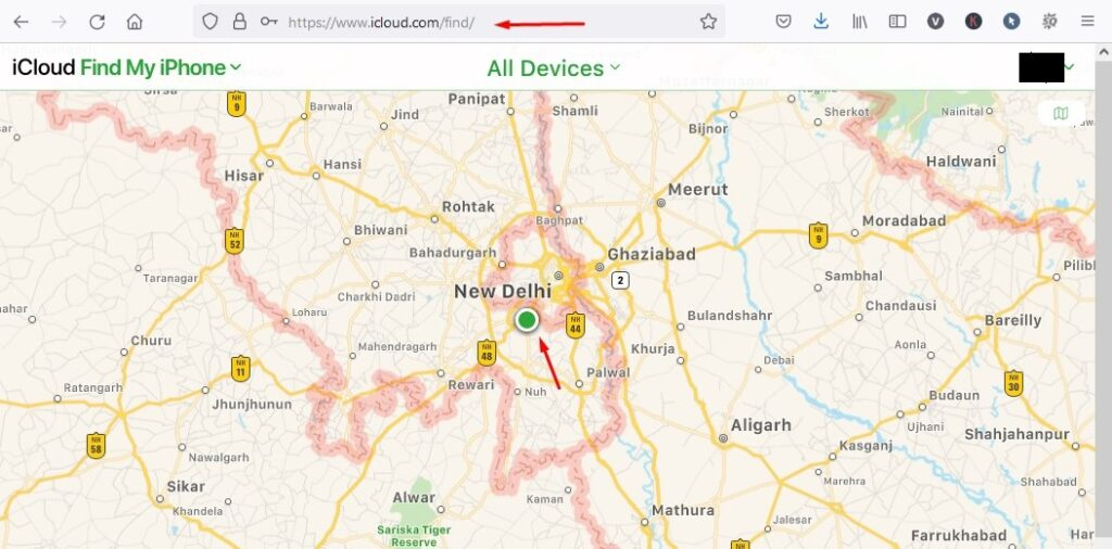 How to locate your iOS device,