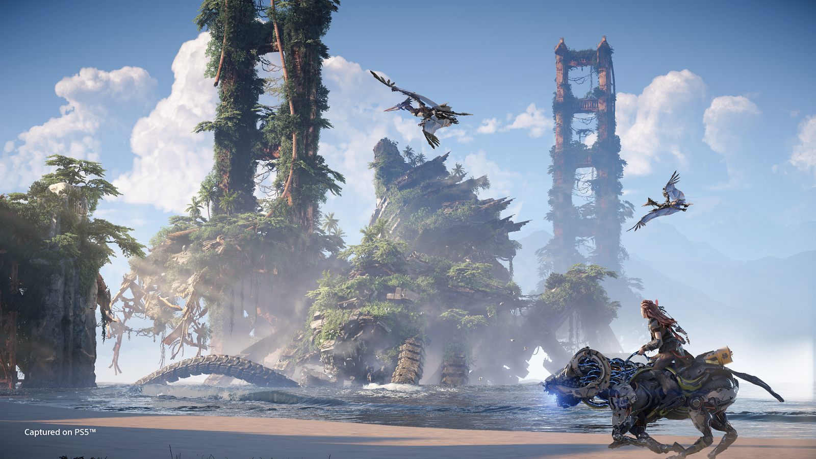 Horizon Forbidden West is not upgradeable to PlayStation 5