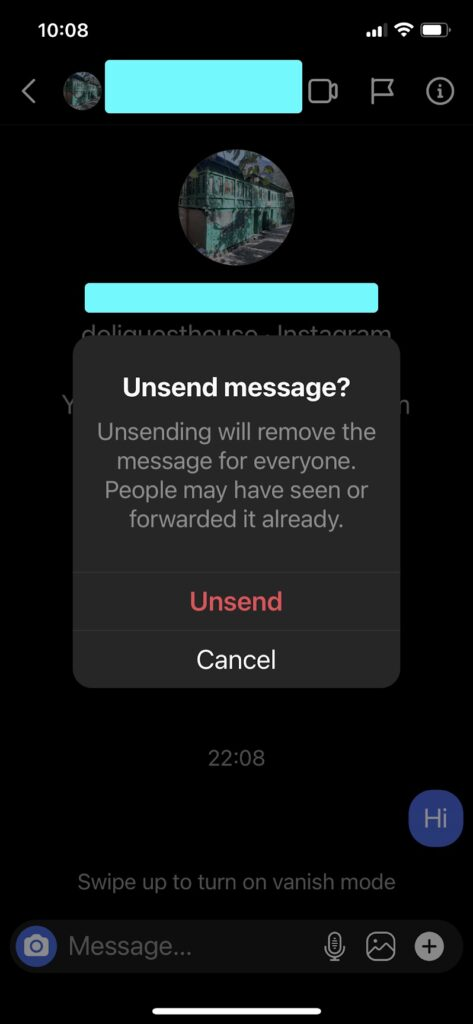 How to Delete Instagram Messages on Both Sides of the Conversation